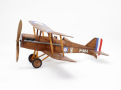 RAF SE5a WWI Bi-plane model aeroplane complete vintage model rubber-powered balsa wood aircraft kit that really flies!