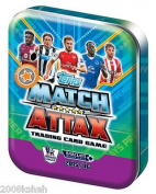 Match Attax 15/16 (Richards, Ramsey and Lukaku) 2015/2016 Pocket Trading Card Collector Tin