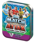 Match Attax 15/16 (Sterling, Rooney and Kane) 2015/2016 Pocket Trading Card Collector Tin