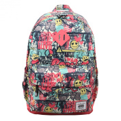 AfterGen Classic Backpack - Graffiti Smiley