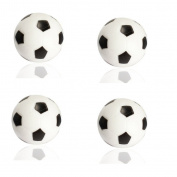 Winstory 4x 32mm Plastic Soccer Table Foosball Ball Football Fussball Futbol Replacement