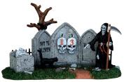 Lemax 43102 Grim Reaper Countdown Spooky Town Table Accent Halloween Decor Village