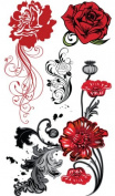 Supperb® Temporary Tattoos - Europe Beauties