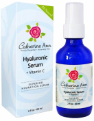 ★Best Pore Minimizer★ Hyaluronic Acid Serum By Catherine Ann - Anti Ageing Face Moisturiser Gel Gentle Enough For Eyes Too. 60ml  .  d!