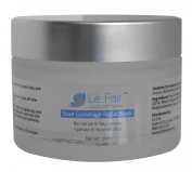 Rose Gommage Facial Mask - Hydrate Nourish Skin - Exfoliate Dead Cells - Spa Treatment Smoothing Complexion Masque - Deep Cleanses Pores - Absorbs Excess Oils Leaving Skin Revitalised & Renewed