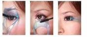 Beauty 3 in1 Mascara Applicator Guide Tool Eyelash Comb Makeup