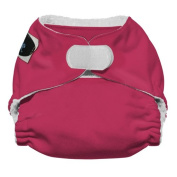Imagine Baby Products Newborn Stay Dry All-In-One Hook and Loop Cloth Nappy, Raspberry