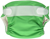 Imagine Baby Products Newborn Stay Dry All-In-One Hook and Loop Cloth Nappy, Emerald