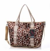 Good & god Baby Nappy Bag Nappy Tote Messenger Changing Bag, Leopard