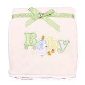 Spasilk Baby-Girls Newborn Extra Thick Plush Blanket with Satin Trim