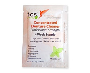 Tcs Sample Concentrated Denture Cleaner 1 Sachet 1 Months Supply For Dentures & All Other Appliances
