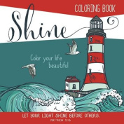 Adult Coloring Book Shine