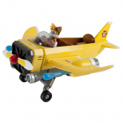Tails Plane Launcher with Sonic and Tails