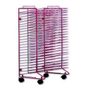 Sax Stack-a- Rack Drying Rack, 80cm x 50cm x 43cm , Red