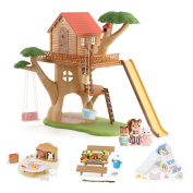Calico Critters Adventure Tree House Gift Set