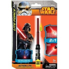 Action Lite Star Wars Mini Light Sabre - Vader