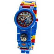 LEGO DC Universe Super Heroes Superman Kids Watch with Mini Figure