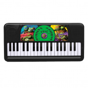 First Act Nickelodeon Teenage Mutant Ninja Turtles Keyboard NT135, Black