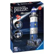 Ravensburger Lighthouse - Night Edition 216pc 3D Jigsaw