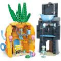 Mega Bloks SpongeBob SquarePants Bad Neighbours Playset
