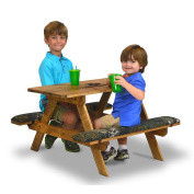 Mossy Oak Solid Wood Picnic Table - Camouflage
