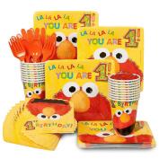 Elmo's 1st Birthday Standard Kit for 8