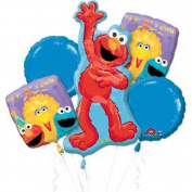 Sesame Street 1st Mylar Balloon Bouquet