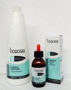 Linange Purifying Shampoo 1000ml and Purifying Lotion 120ml