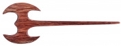 Mary Crafts Wooden Battle Viking War Axe Hair Stick, Hairstick, Hair Pin, Hairpin, Hair Accessories, Handmade