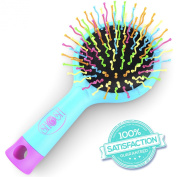 The Amazing Hair Brush - Detangle Hair Effortlessly With No Pain - Wet Or Dry - Adults & Kids -