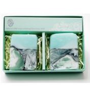 Gangwon Chuncheon Jade Soap, Natural Handmade Soap 2ea Set