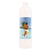 Belloccio Simple Tan Pint Bottle of Professional Salon Sunless Tanning Solution with 10% DHA and Dark Bronzer Colour Guide
