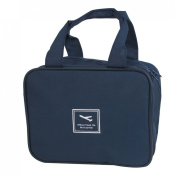 Travel Toiletry Toiletries Cosmetic Beauty Wash Bag Handbag Dark Blue