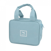 Travel Toiletry Toiletries Cosmetic Beauty Wash Bag Handbag Sky Blue