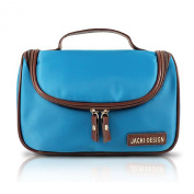 Hanging Travel / Cosmetic Makeup Ladies Toiletry Bag Light Blue