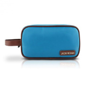 Travel / Cosmetic Makeup Ladies Clutch Toiletry Bag Light Blue