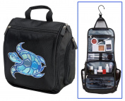 Turtle Toiletry Bag or Shaving Kit - Travel Bag Sea Turtle Cosmetic Bag