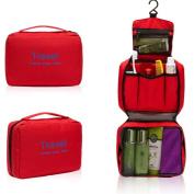 Holiberty® Womens Mens Multi-function Waterproof Outdoor Living Travel Portable Commercial Trip Makeup Wash Bag Moisture-proof Hanging Toiletry Kit Bra Underwear Cosmetic Storage Bags Organiser