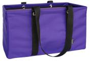 "MDM Bags Large Utility Tote Bag, Laundry Bag ""Purple & Black"""