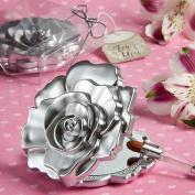 200 Realistic Rose Design Mirror Compacts