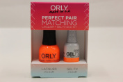 Orly Perfect Pair Matching Lacquer and Gel Duo Kit, Melt Your Popsicle