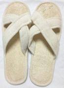 Criss Cross Loofah Spa Slippers