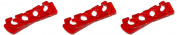 Prolinc Spa Gel Toe Separators, Red ,Green, or Yellow 3 Pack