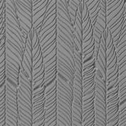 Cool Tools - Flexible Texture Tile - Feathered Fineline - 10cm X 5.1cm