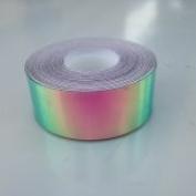 9.1m Roll of 1.9cm Watermelon Haze Colour Shifting Metallic Hula Hoop Tape