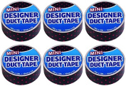 Just for Laughs Designer Mini Duct Tape 6 Pack