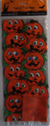 Pumpkin Jack O' Lantern Halloween Cellophane Bag/Goody Bag/Grab Bag
