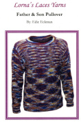 Lorna's Laces Father & Son Pullover Knitting Pattern