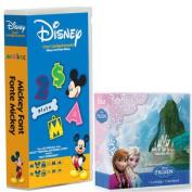 Cricut Cartridge Bundle Disney Frozen & Mickey Font