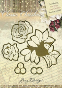Find It Trading Roses Amy Design Classic Christmas Die